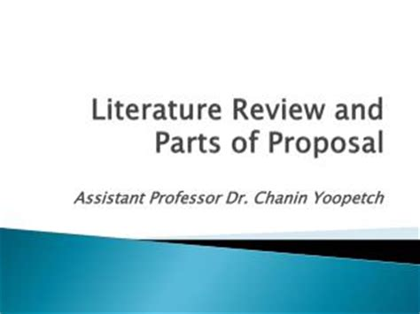 Components of a Research Plan or Proposal Part 1